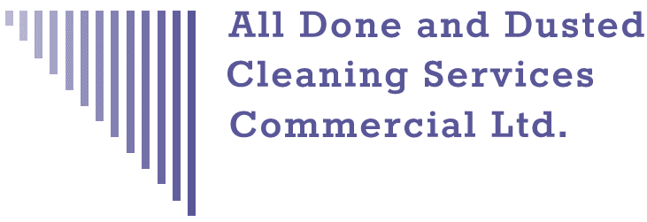 ALL DONE AND DUSTED CLEANING SERVICES LTD logo