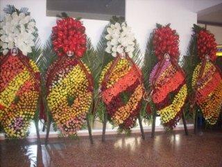Gli addobbi floreali per funerali
