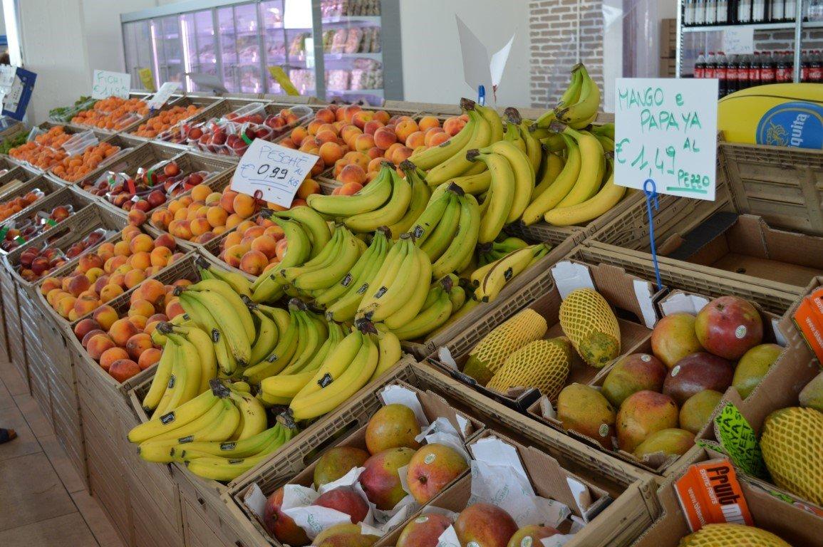 ingrosso frutta e verdura