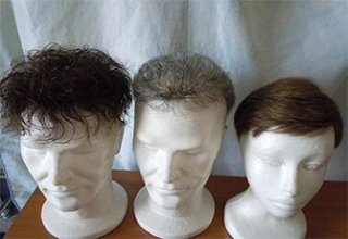 Parrucche e parrucchini uomo
