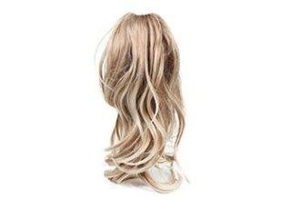 Parrucca lunga di capelli veri