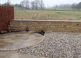 Garden design - North West - A J Jackson Landscaping and Natural Stone Specialists - Dry Stone