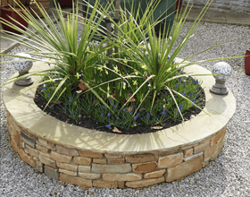 Landscaping - North West - A J Jackson Landscaping and Natural Stone Specialists - Stone Wall