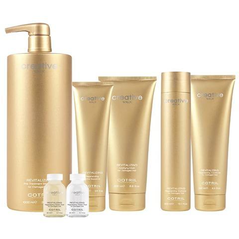 trattamenti per capelli in confezioni dorate