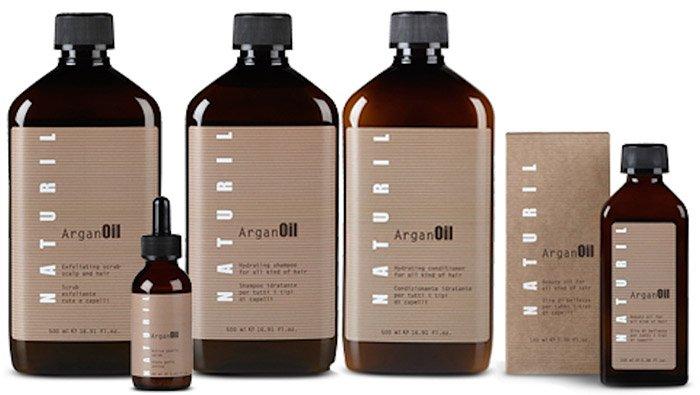confezioni di prodotti per capelli