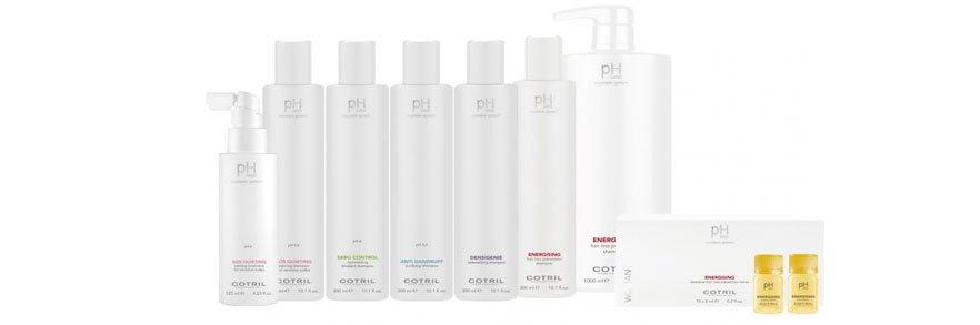 trattamenti per capelli in confezioni trasparenti