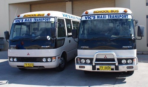 Vic's Maxi Transport - School Bus Charter