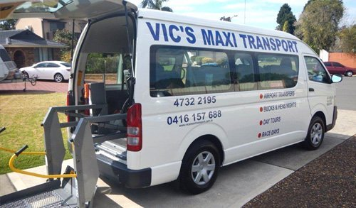 Vic's Maxi Transport - Disability Services