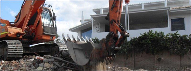 jag demolition excavator building demolition