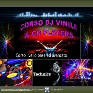 CORSO DJ VINILE & CD PLAYERS
