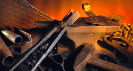 lavorazione ferro, acciaio, ferro battuto