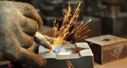 lavori in ferro battuto, acciaio per l'edilizia, coperture edili