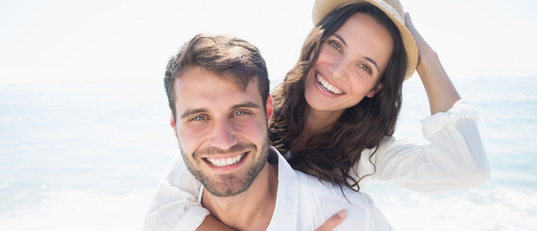 coppia giovane uomo donna