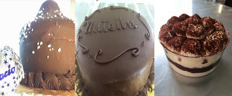 Gelato al cioccolato e nutella a Marano Di Napoli