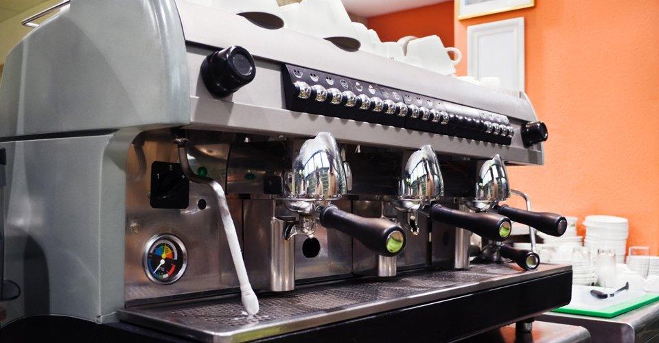 café equipment