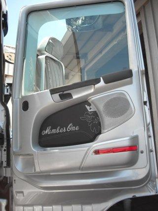 personalizzazione portiera camion