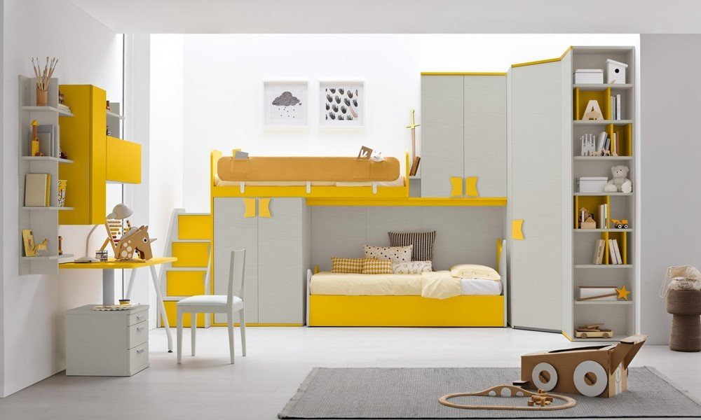 Camerette per bambini - Brindisi - Gioia Arredamenti