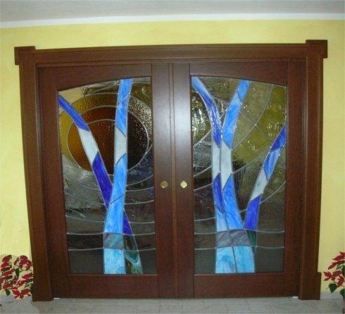 Porte in legno a battente