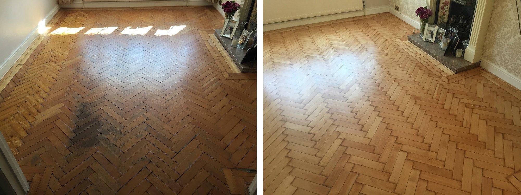 Restoring a parquet floor meze blog for Wood floor repair specialist