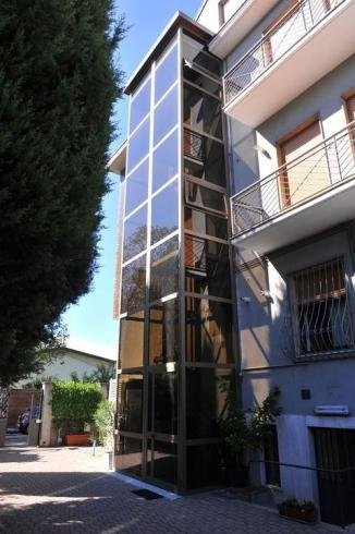 Installazione ascensore esterno