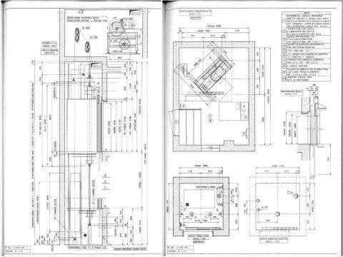 Progettazione ascensori e montacarichi
