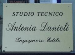 TARGA IN ALLUMINIO DORATO  PER STUDIO PROFESSIONALE