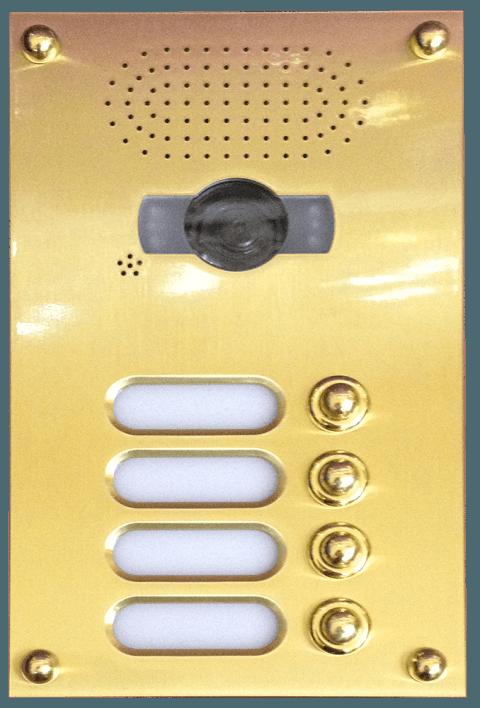 citofono 4 pulsanti con fotocamera