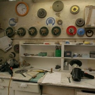 Laboratorio artigianale.