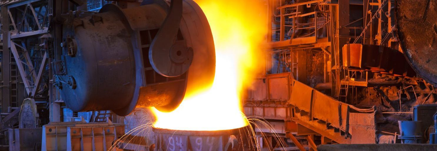 Pouring molten steel during refractory services in Auckland, New Zealand