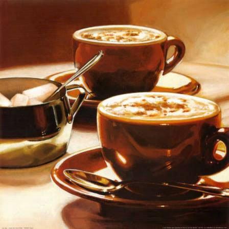 delle tazze di cappuccino