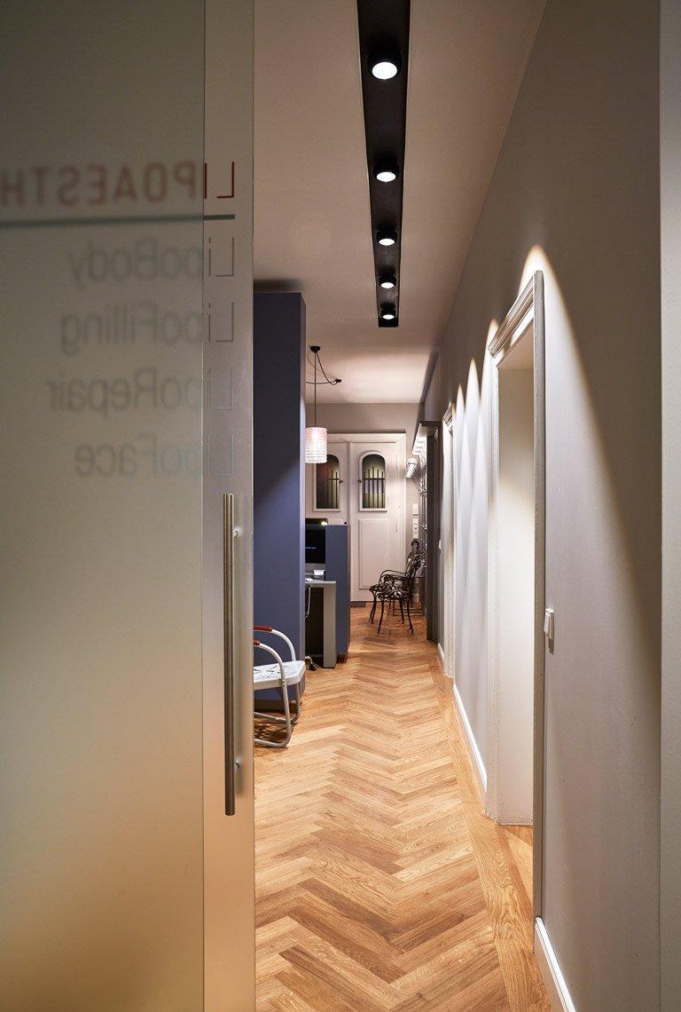 Einer der Praxisräume der Lipoaesthetic Praxis in München