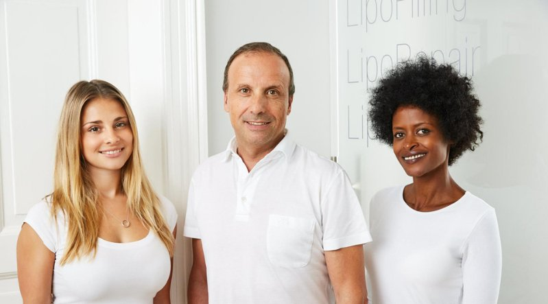 The Lipoaesthetic team in central Munich