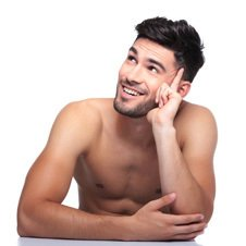 Man after liposuction and body contouring in Munich