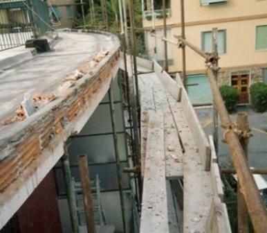 ponteggio di sicurezza edilservizi Genova