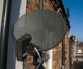 Aerial Installation - Aldershot, Hampshire - Attfield Aerials - TV and satellite dish