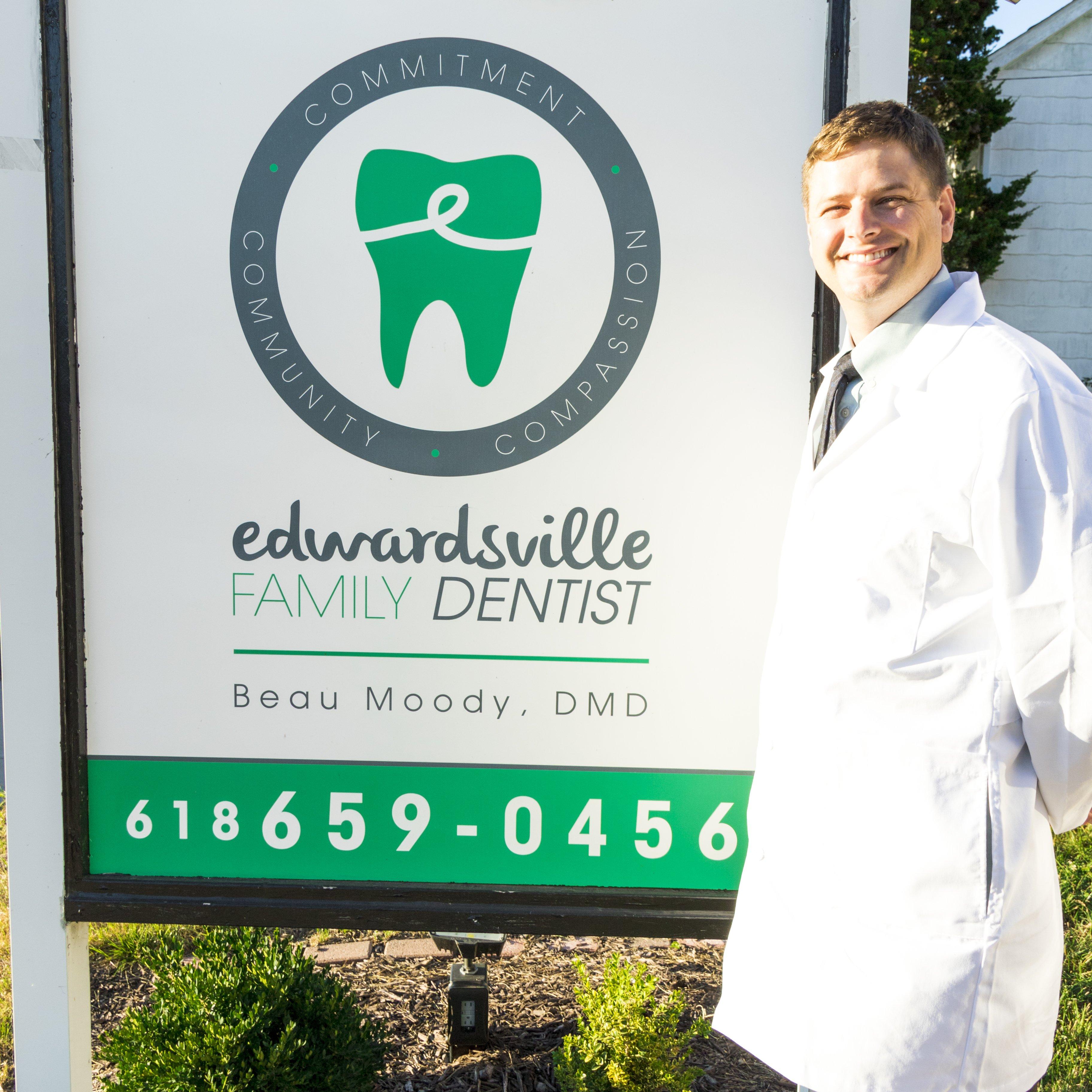 Edwardsville Family Dentist located near Edwardsville, IL post office