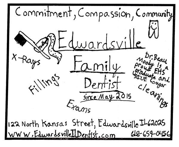 Edwardsville and Glen Carbon School District dentist drawing