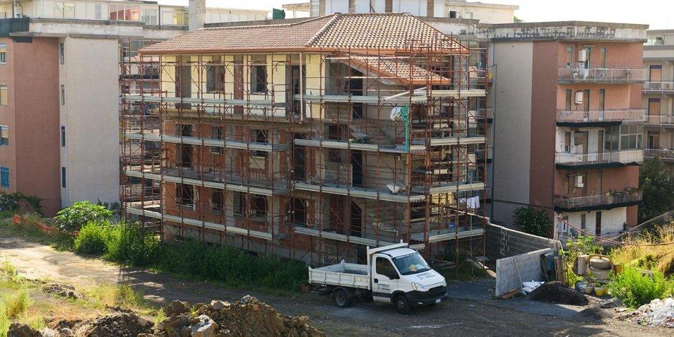 costruzione di palazzi