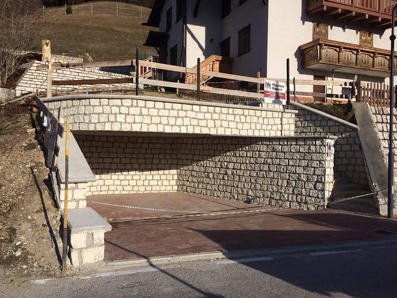 murata in costruzione
