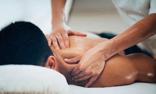 massaggio corpo uomo