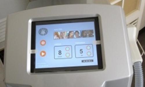 macchina trattamento laser