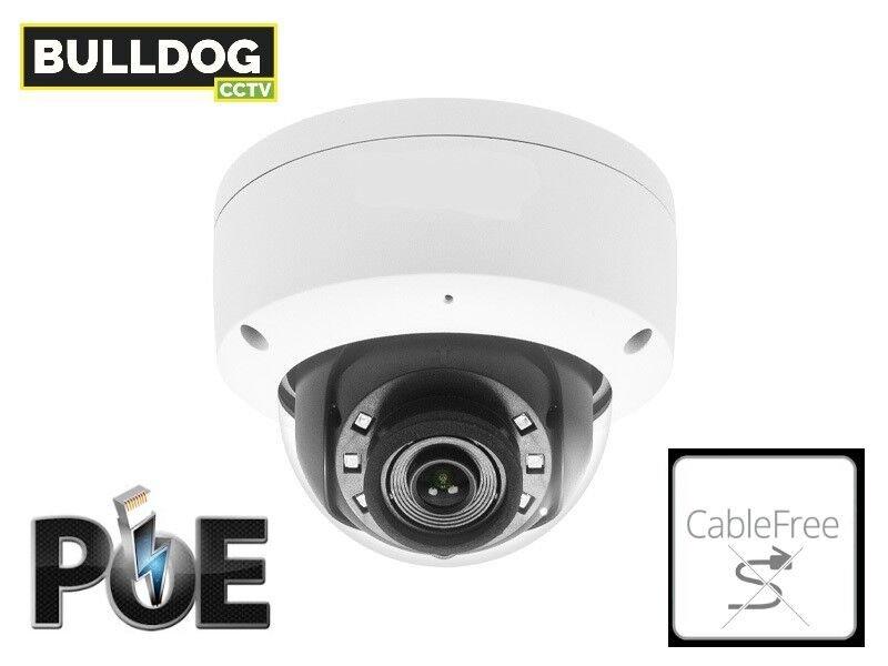 bulldog cctv ip dome camera