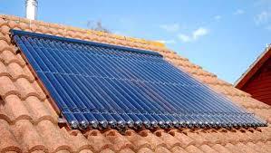 pannelli su un tetto