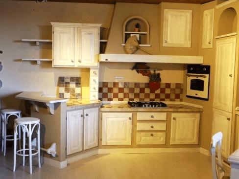 Cucina in muratura mod. Sogno colore decape' Zappalorto.