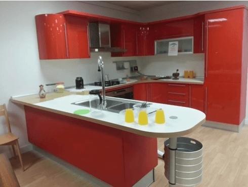 cucina laccata in promozione