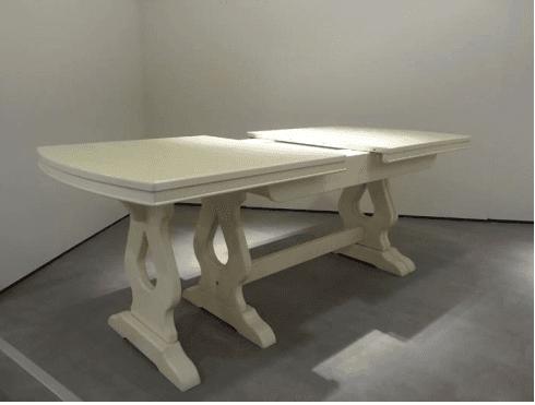 tavolo allungabile a 360, tavolo in legno allungabile