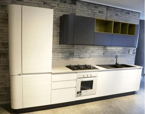 Cucina moderna mod. Bring - colore bianco shamal