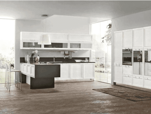Cucina contemporanea mod. Malibu'