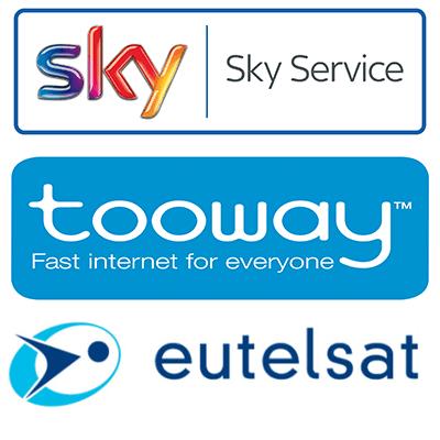 assistenza satellitare digitale terrestre sky eutelsat tooway