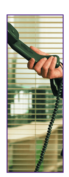 Network services - Birmingham, West Midlands - PMS Networks Ltd - Woman holding a telephone